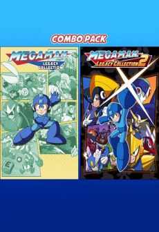 free Mega Man Legacy Collection 1 & 2 Combo Pack XBOX LIVE Key XBOX ONE GLOBAL