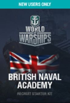 free World of Warships British Naval Academy Recruit Starter Kit Key PC EUROPE
