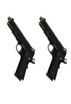 free AKIMBO CROSSKILL PISTOLS | Castor and Pollux, Battle-Worn