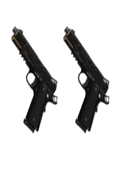 free AKIMBO CROSSKILL PISTOLS | Castor and Pollux, Well-Used, Stat Boost