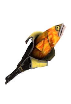 free Fire Glazed Holy Mackerel (Well-Worn)
