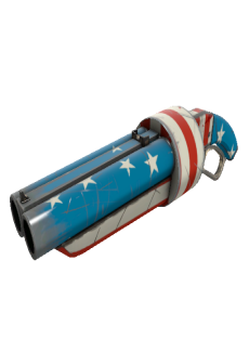 free Freedom Wrapped Scattergun (Field-Tested)