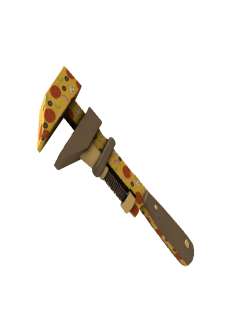 free Killstreak Pizza Polished Wrench (Factory New)