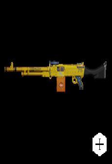 free KSP 58 LIGHT MACHINE GUN | Bulldozer, Battle-Worn, Stat Boost