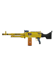 free KSP 58 LIGHT MACHINE GUN   Bulldozer, Lightly-Marked