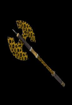 free Leopard Printed Scotsman's Skullcutter (Minimal Wear)