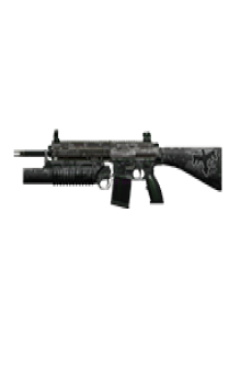 free LITTLE FRIEND 7.62 ASSAULT RIFLE | Battle Zone, Battle-Worn
