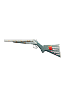 free MOSCONI 12G SHOTGUN   Bullet Bear Gun, Mint-Condition