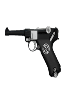 free PARABELLUM PISTOL | On Point, Lightly-Marked, Stat Boost