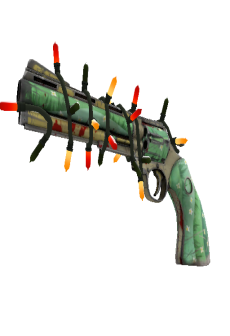 free Strange Festivized Killstreak Flower Power Revolver (Well-Worn)
