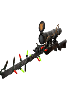 free Strange Festivized Killstreak Night Owl Sniper Rifle (Battle Scarred)