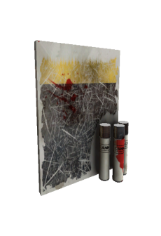 free Strange Iron Wood Mk.II War Paint (Battle Scarred)