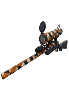 free Strange Specialized Killstreak Merc Stained Sniper Rifle (Factory New)