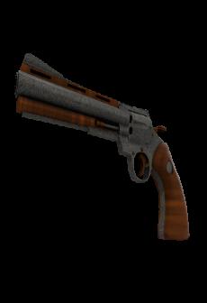free Damascus & Mahogany Revolver (Factory New)