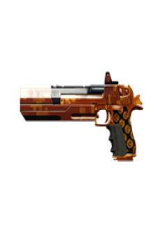 free DEAGLE PISTOL | Midas Touch, Battle-Worn, Stat Boost