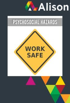free Managing Health and Safety in Healthcare - Psychosocial Hazards Alison Course GLOBAL - Parchment Certificate