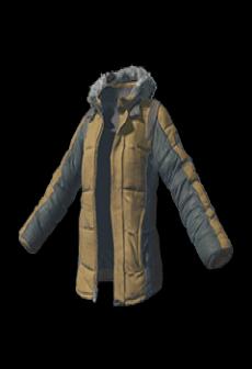 free Padded Jacket (Khaki)