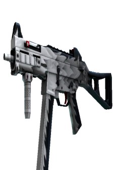 free StatTrak™ UMP-45   Arctic Wolf (Minimal Wear)