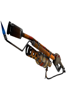 free Strange Anodized Aloha Flame Thrower (Well-Worn)