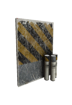 free Strange Unusual Hazard Warning War Paint (Well-Worn)