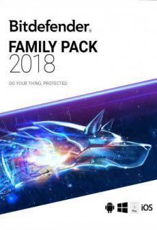 free Bitdefender Family Pack 2018 1 Year Bitdefender Key GLOBAL