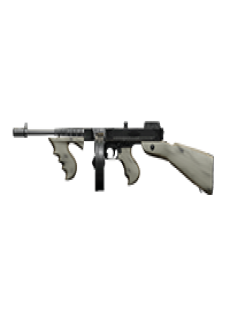 free CHICAGO TYPEWRITER SUBMACHINE GUN | Pallido Madre, Well-Used, Stat Boost