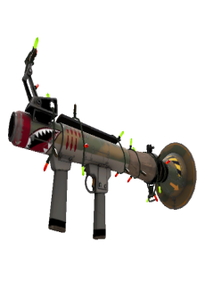 free Festivized Killstreak Warhawk Rocket Launcher (Minimal Wear)