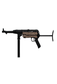 free MP40 SUBMACHINE GUN | Classic Finish, Battle-Worn, Stat Boost