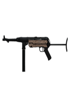 free MP40 SUBMACHINE GUN | Classic Finish, Broken-In