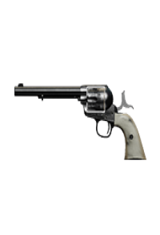 free PEACEMAKER .45 REVOLVER | Justice Pearl, Lightly-Marked