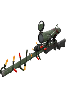 free Strange Festivized Bomber Soul Sniper Rifle (Well-Worn)