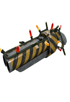 free Strange Festivized Hazard Warning Scattergun (Minimal Wear)