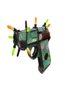 free Strange Festivized Specialized Killstreak Brain Candy Pistol (Well-Worn)