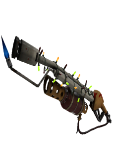 free Strange Festivized Specialized Killstreak Coffin Nail Flame Thrower (Field-Tested)