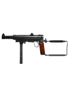 free SWEDISH K SUBMACHINE GUN | Copper Green, Broken-In