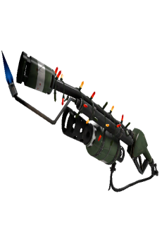 free Unusual Festivized Bomber Soul Flame Thrower (Field-Tested)