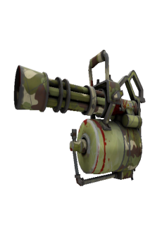 free Woodland Warrior Mk.II Minigun (Battle Scarred)